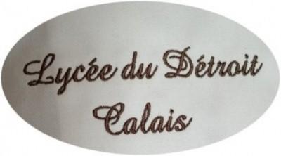 Broderie veste Lycée du Détroit -Opale broderie